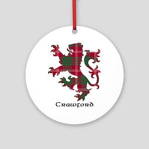 Lion - Crawford Ornament (Round)