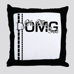 D-Lip OMG Throw Pillow