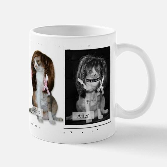 Faces of Catnip 2 Mug
