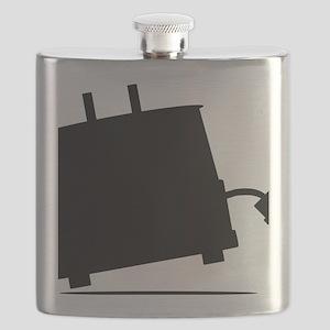 ToasterSilhouette Flask