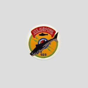albacore patch transparent Mini Button