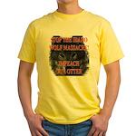 Stop the wolf massacre Yellow T-Shirt