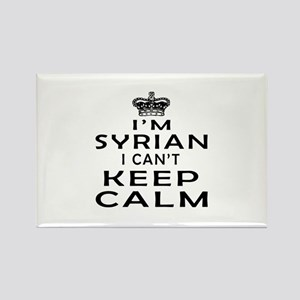 I Am Syrian I Can Not Keep Calm Rectangle Magnet