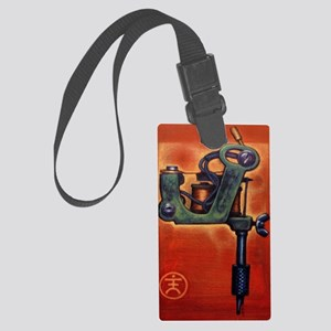 Red Machine Large Luggage Tag