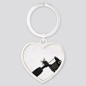 Addicted to the Heart Keychain