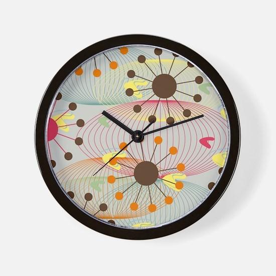 Retro Wall Clock