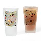 Mid century modern Drinking Glass