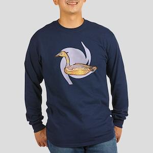 Duck Long Sleeve Dark T-Shirt