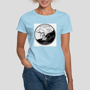 state-quarter-michigan Women's Light T-Shirt