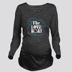 The Love Boat Long Sleeve Maternity T-Shirt