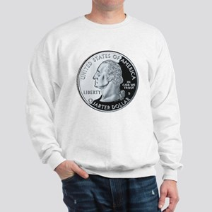 quarter-heads-george-02 Sweatshirt