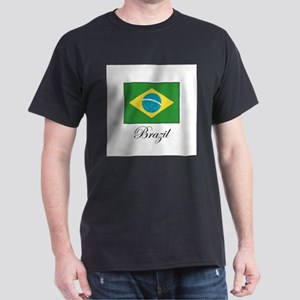 Brazil - Flag Dark T-Shirt