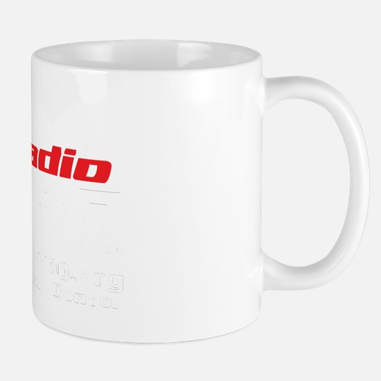 Radio 1190 white logo Mug