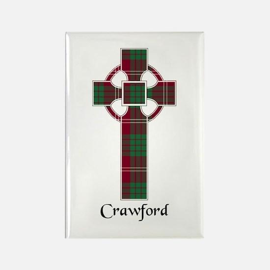 Cross - Crawford Rectangle Magnet