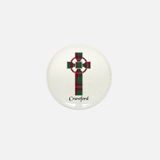 Cross - Crawford Mini Button