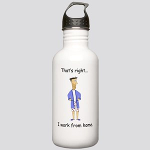 Work from home Stainless Water Bottle 1.0L