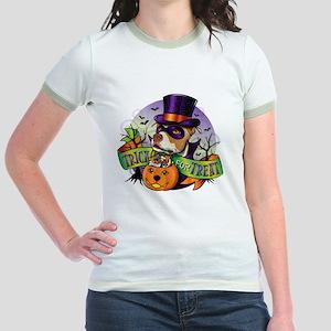 NEW_TRICK_FOR_TREAT Jr. Ringer T-Shirt