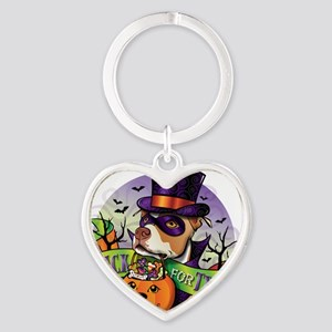 NEW_TRICK_FOR_TREAT Heart Keychain
