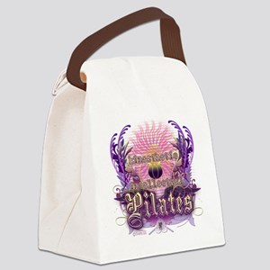 Pilates Kinesthetic Intellectual  Canvas Lunch Bag