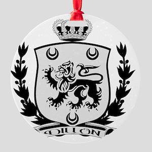 Dillon Crest for Light Round Ornament