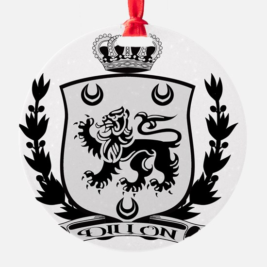 Dillon Crest for Light Ornament