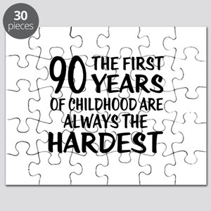 90 Years Of Childhood Are Always The Hardes Puzzle
