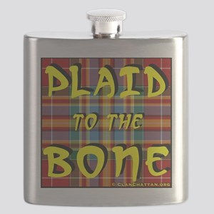 Plaid to the Bone by ClanChattan.org Flask