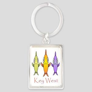 Key West Portrait Keychain