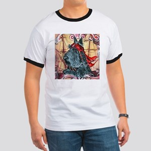 a pirate button Ringer T