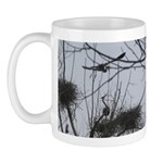Hovering Over the Nest Mug
