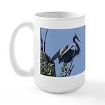 Crested Beauty Large Mug