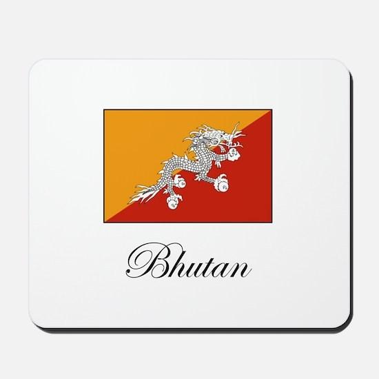 Bhutan - Flag Mousepad