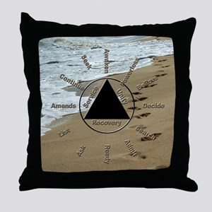 AAClock Throw Pillow