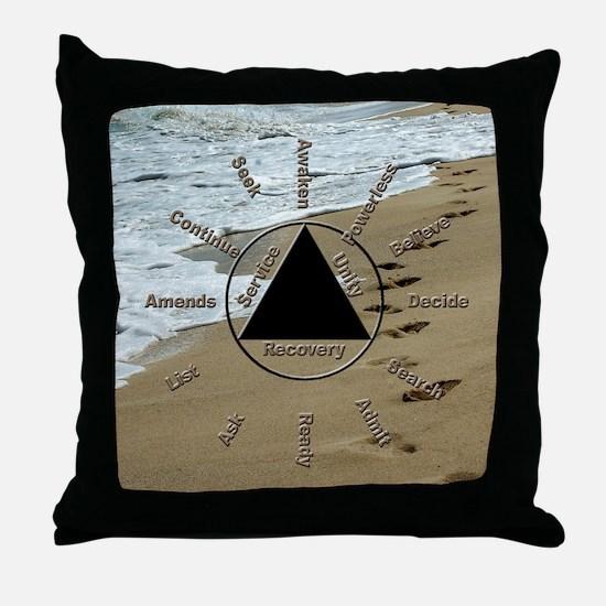 AAClock Throw Pillow