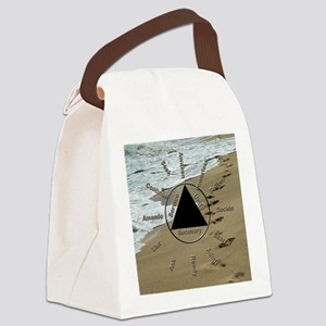 AAClock Canvas Lunch Bag