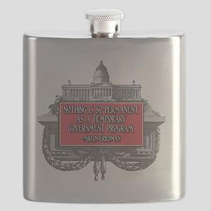 2-Milton Friedman on Government Programs Flask