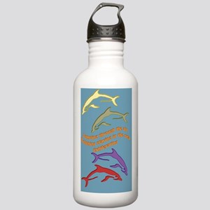 FourDolphins-journal Stainless Water Bottle 1.0L