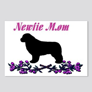 Newfie Mom Postcards (Package of 8)