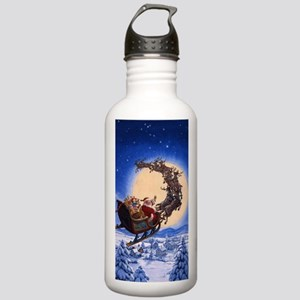 Merry Christmas to All Stainless Water Bottle 1.0L