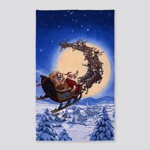 Merry Christmas to All_POSTER 3'x5' Area Rug