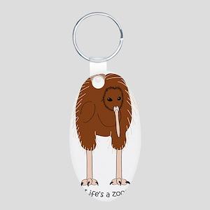 kiwilight Aluminum Oval Keychain