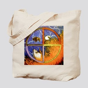 Medicine Wheel Tote Bag