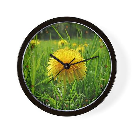 Dandelion Wall Clock 2