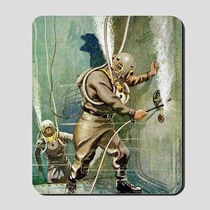 DIVERS WELDING Mousepad