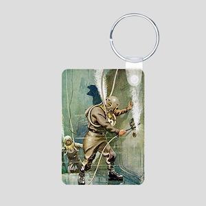 DIVERS WELDING Aluminum Photo Keychain