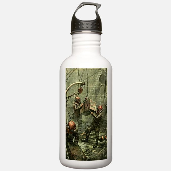 SALVAGE DIVERS Water Bottle