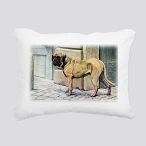 mastiff by fuertes Rectangular Canvas Pillow