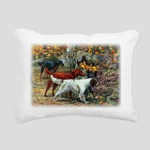 setters by fuertes Rectangular Canvas Pillow