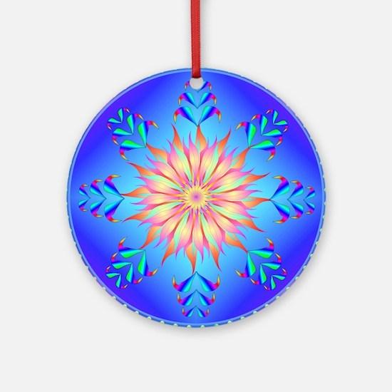 Sun flower-4. Round Ornament