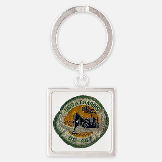 atharris patch transparent Square Keychain